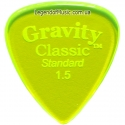 Gravity Picks GCLS15P Classic Standard Polished 1.50 mm