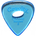 Gravity Picks GCLS2PE Classic Standard Polished with Hole 2.00mm