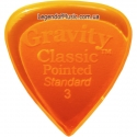 Gravity Picks GCPS3P Classic Pointed Standard Polished 3.00 mm