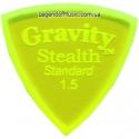 Gravity Picks GSSS15M Stealth Standard Unpolished 1.50 mm