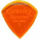 Gravity Picks GSUS3P Sunrise Standard Polished 3.00 mm