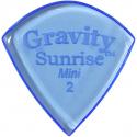 Gravity Picks GSUM2P Sunrise Mini Polished 2.00 mm