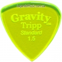 Gravity Picks GTRS15P Tripp Standard Polished 1.50 mm