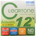 Струны Cleartone 7612 EMP Coated Bronze 80/20 Light 12-53