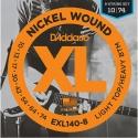 Струны D'Addario EXL140-8 8-String Nickel Wound LTHB 10-74