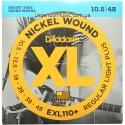 Струны D'Addario EXL110+ Nickel Wound 10.5-48