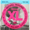 Струны D'Addario EXL120+ Nickel Wound 9.5-44