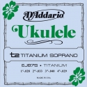 Струны D'Addario EJ87S Titanium Ukulele Soprano