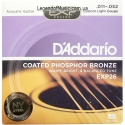 Струны D'Addario EXP26 Coated Phosphor Bronze 11-52
