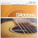 Струны D'Addario EJ15 Phosphor Bronze10-47