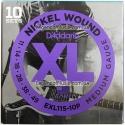 Струны D'Addario EXL115-10P Nickel Wound 11-49 10 sets