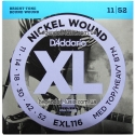 Струны D'Addario EXL116 Nickel Wound 11-52