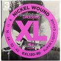 Струны D'Addario EXL120-3D Nickel Wound 9-42 3 sets