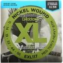 Струны D'Addario EXL117 Nickel Wound 11-56
