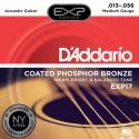 Струны D'Addario EXP17 Coated Phosphor Bronze 13-56