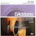 Струны D'Addario EJ13 Bronze 80/20 11-52