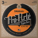 Струны D'Addario EJ43-3D Pro Arte Light Tension 27.5-42 3 sets