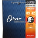 Струны Elixir 12002 Anti-Rust NanoWeb Super Light 9-42