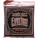 Струны Ernie Ball Everlast 2546 Phosphor Bronze 12-54 M. Light