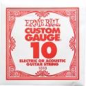 Струна Ernie Ball 1010 Plain Steel .010 (акустика и электро)