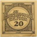 Струна Ernie Ball 1420 Earthwood 80/20 Bronze .020 (акустика)