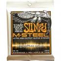 Струны Ernie Ball 2922 M-Steel Slinky 9-46