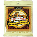 Струны Ernie Ball 2069 Earthwood Folk Nylon Clear Gold 28-42