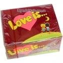 Жвачка Love Is Вишня - Лимон 100шт.