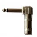 Угловой джек 6,3mm с текстолитом
