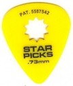 Медиатор Star Picks / Medium / .73 mm