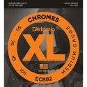 Струны бас D'Addario ECB82 Chromes Medium 50-105