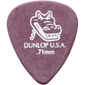 Медиатор Dunlop 417R.71 Gator Grip 0.71 mm