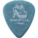Медиатор Dunlop 417R1.14 Gator Grip 1.14 mm