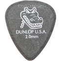 Медиатор Dunlop 417R2.0 Gator Grip 2.00 mm