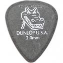 Медиатор Dunlop 417R2.0 Gator Grip 2.00 mm