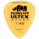 Медиатор Dunlop 433R1.4 Ultex Sharp 1.40 mm