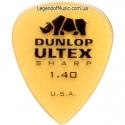 Медиатор Dunlop 433R1.4 Ultex Sharp 1.40 mm
