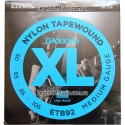 Струны бас D'Addario ETB92 Nylon Tape Wound Medium 50-105