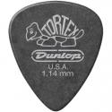 Медиатор Dunlop 488R1.14 Tortex Pitch Black Standard 1.14 mm