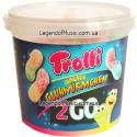 Жевательный мармелад Trolli 2 Go Sour Glow Worms 150g