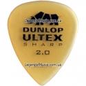 Медиатор Dunlop 433R2.0 Ultex Sharp 2.00 mm