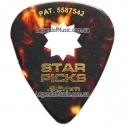 Медиатор Everly 32003 Star Picks Celluloid / Heavy / 0.96 mm
