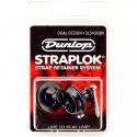 Стреплок Dunlop SLS1033BK Straplock Dual Design Black