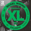 Струны бас D'Addario EXL220TP Super Light 40-95 2 sets