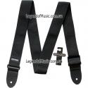 Ремень гитарный Dunlop D07-01BK Guitar Poly Strap Black