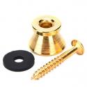 Пуговица для гитары Gold 1шт. крепление для ремня