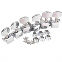 Колки для акустической и электрогитары 3L+3R Nickel