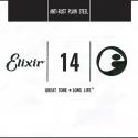 Струна Elixir 13014 Anti-Rust Plain Steel 0.14 акустика и электр