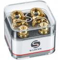Стреплоки Schaller 14010501 S-Locks Gold Security Locks
