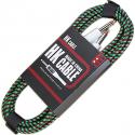 Кабель для гитары HK Premium Instrument Cable 3m. Green